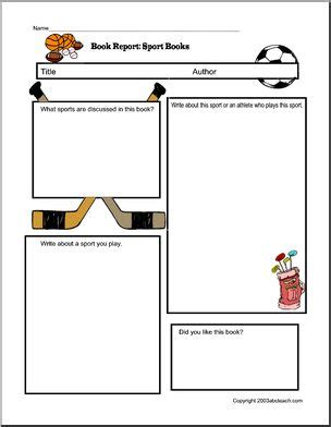 Lesson plans for book reports